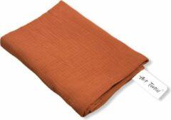 Art Textiel - Hydrofiele Doek - XL - 3 Laags - Brique