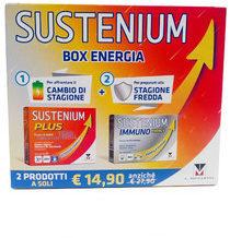 Menarini Sustenium Box Energia Sustenium Plus gusto Mora e Limone +Sustenium Immuno Energy gusto Arancia