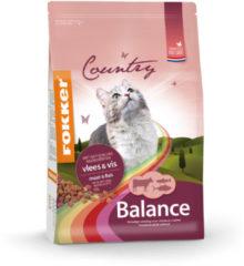 Fokker Country Balance Cat Vlees&Vis - Kattenvoer - 2.5 kg - Kattenvoer