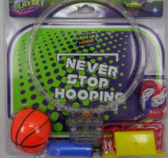 Transparante Toitoys Toi-toys Basketbalset Met Lichtgevende Ring 10 Cm 5-delig