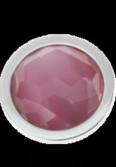 Quoins QMEG-L-LP Cat's Eye Light Pink Large