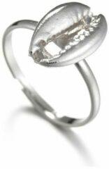 Yada Ring Schelp - Zilverkleurig