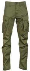 Groene Cargobroek G-Star Raw ROVIC ZIP 3D STRAIGHT TAPERED