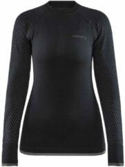 Zwarte Craft Adv Fuseknit Intensity L/S Thermoshirt Dames - Maat XS