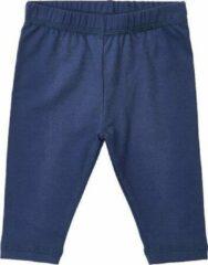 Minymo - newborn legging - Grow organic - blauw - Maat 80