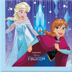 Disney 20 papieren Frozen™ servetten - Feestdecoratievoorwerp