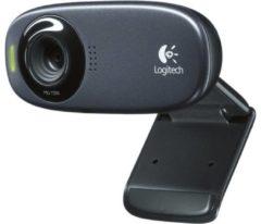 Logitech C310 HD-webcam 1280 x 720 pix Standvoet, Klemhouder