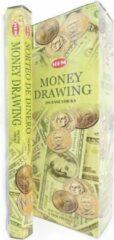 Groene Mountain-giftshop Money drawing wierook (HEM) Los pakje a 20 stokjes