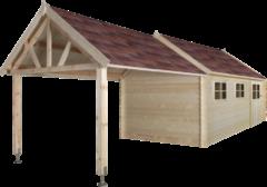 Gardenas | Garage Coventry XL 320x870 cm | Geimpregneerd