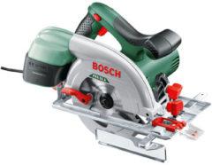 Groene Bosch PKS 55 A Cirkelzaag - 1200 Watt - 55 mm zaagdiepte - Geleverd met in totaal 1 zaagblad