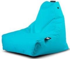 Turquoise B-bag extreme lounging Extreme Lounging B-Bag Mini-B Kinder Zitzak - Aqua