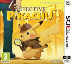 Nintendo Detective Pikachu + Detective Pikachu-thema
