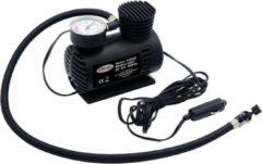 Zwarte HÖFFTECH Hofftech Compacte Luchtcompressor - Ideaal Voor Banden En Opblaasartikelen