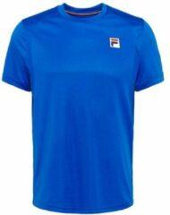 Blauwe Fila T-Shirt Nick Heren Tennisshirt - Maat M