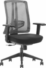 Zwarte VDD Office Bureaustoel Seattle ergonomisch comfort line - verstelbare stoel - Mesh stof