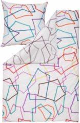 Bettwäsche, Estella, »Scribble«, mit geometrischen Formen