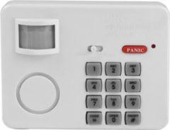 Sonstiges SECURE@HOME Hausalarm Bewegungsmelder mit Tastenfeld für Zahlencode