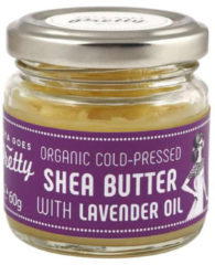 Zoya Goes Pretty Organic Cold Pressed Shea Butter met Lavendel Oil - 60 gram