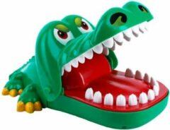 Daily Playground Spel Bijtende Krokodil met rubberen tanden – Krokodil met Kiespijn – Krokodil Tanden Spel - Tandarts - Party Spel - Gezelschapsspel - Drankspel - Shot spel - Groene Krokodil