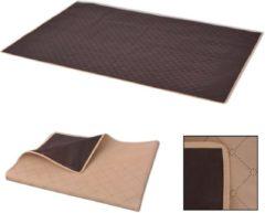 VidaXL Picknick-kleed beige en bruin 100x150 cm