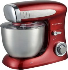 Herenthal - Keukenmachine - mixer - 1900W - 6.5L - HT-PKM1900.472.9 RED - Rood