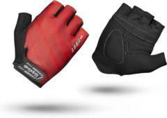 Rode GripGrab Rouleur fietshandschoenen (korte vingers) - Handschoenen met korte vingers