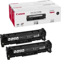 Canon CRG-718 Bk VP Laser cartridge 3400pagina's Zwart