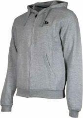 Donnay sweater met capuchon - Sportvest - Heren - Maat L - Licht grijs gemêleerd