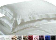 Silkmood Zijden kussensloop, Voilet foncé, 50x70+5 cm, Oxford-style 100% zijde, 405thread count(19momme)