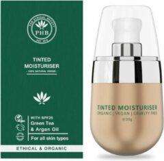 Phb Ethical Beauty Face Make-up Tinted Moisturiser Light Fluide Spf25 30gr