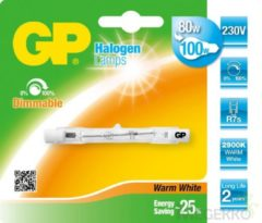 GP Lighting 070771-HLME1 80W R7s D Warm wit halogeenlamp