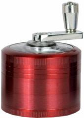 Geeek Metalen Grinder Luxe 4-delig 50 mm Rood