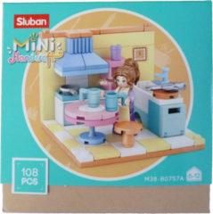 Sluban Poppenhuis - Keuken Afmeting verpakking: 14,6 x 14,6 x 6,2 cm
