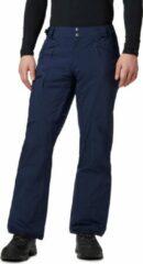 Marineblauwe Columbia Cushman Crest Pant Heren Wintersportbroek - Collegiate Navy - Maat XXL