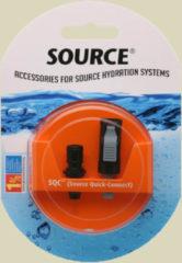 Source Ltd. Source Quick Connect Stecksystem für Trinksysteme schwarz