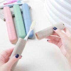 Tandenbleek Centrum Tandenborstel houder | Case | Koker | Houder | Beschermend | Hygiënisch | Veilig | Reizen | Grijs