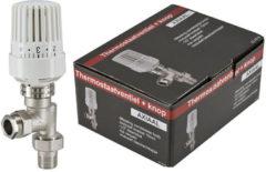 Witte Praya Ra thermostatische radiatorventiel 1/2 x 1.5cm axiaal 43.3516