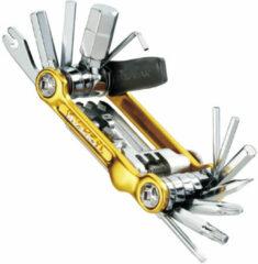 Gouden Topeak Mini 20 Pro multigereedschap met 20 functies - Multigereedschap