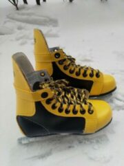 Gele Avento by Nijdam Kinderschaatsen Avento Maat 28 - Schaats - Kinderschaats - ijshockey - ijshockeyschaats