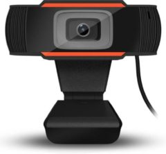 Kinger Webcam Full HD - 1080p - USB Webcam met Microfoon - Webcam voor PC of Laptop - Geschikt voor Windows en Mac - Zwart