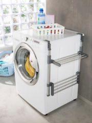 Waschmaschinenregal Betty Casamaxx Grau