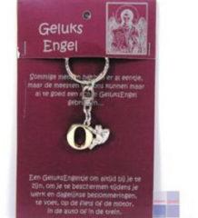 Steengoed Geluksengel Sleutelhanger O (1st)