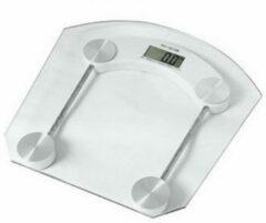 Personenweegschaal glas digitaal tot 180 kg