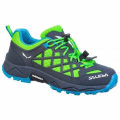 Salewa - Kid's Wildfire - Multisportschoenen maat 34, blauw/groen