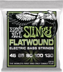 Ernie Ball 2816 5-snarenset Regular Slinky Flatwound Bass
