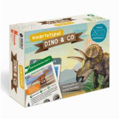 DINO & CO - kwartetspel met posterboek - Naturalis Biodiversity Center en Melanie Hibbert