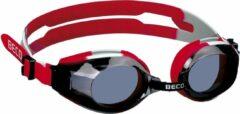 Beco zwembril Arica polycarbonaat junior rood/grijs