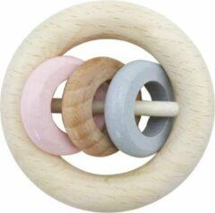 Hess Rammelaar met 3 ringen (naturel/roze)
