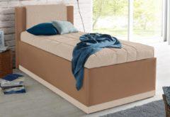 Westfalia Schlafkomfort Polsterbett inkl. Bettkasten und Tagesdecke