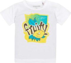 Witte Noppies Baby T-shirt Maat 56